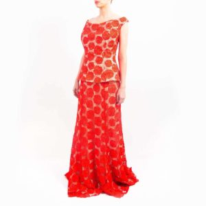 rode embedded gown