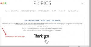 Thank You PK PICS