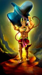 Hanumanji and the King of Spirits