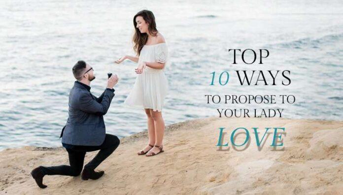 Unique ways to propose on valentine