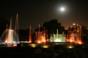 Mughal Garden Fountain